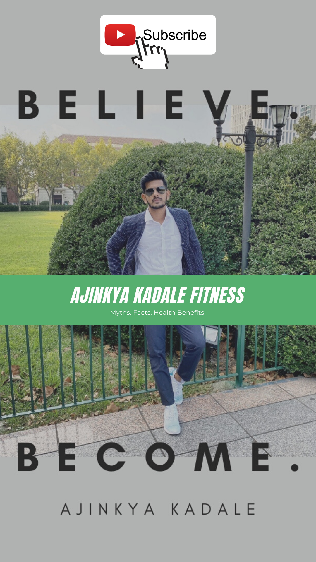 "Get Your facts right! - says, the emerging fitness icon from Navi Mumbai, ""Ajinkya Kadale"""