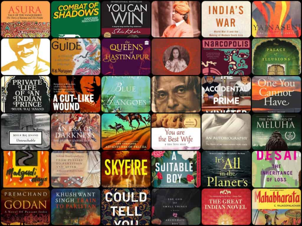 5 best books by Indian author
